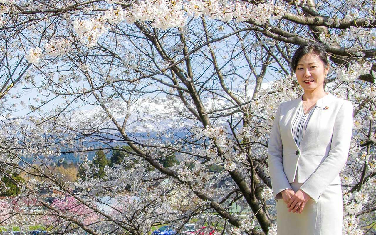 自由民主党衆議院議員 加藤鮎子